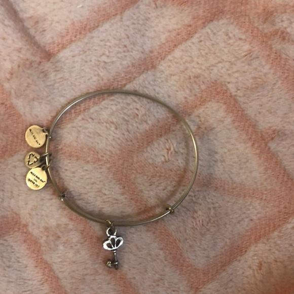 Alex and Ani Jewelry - Alex and Ani Key Charm Bangle